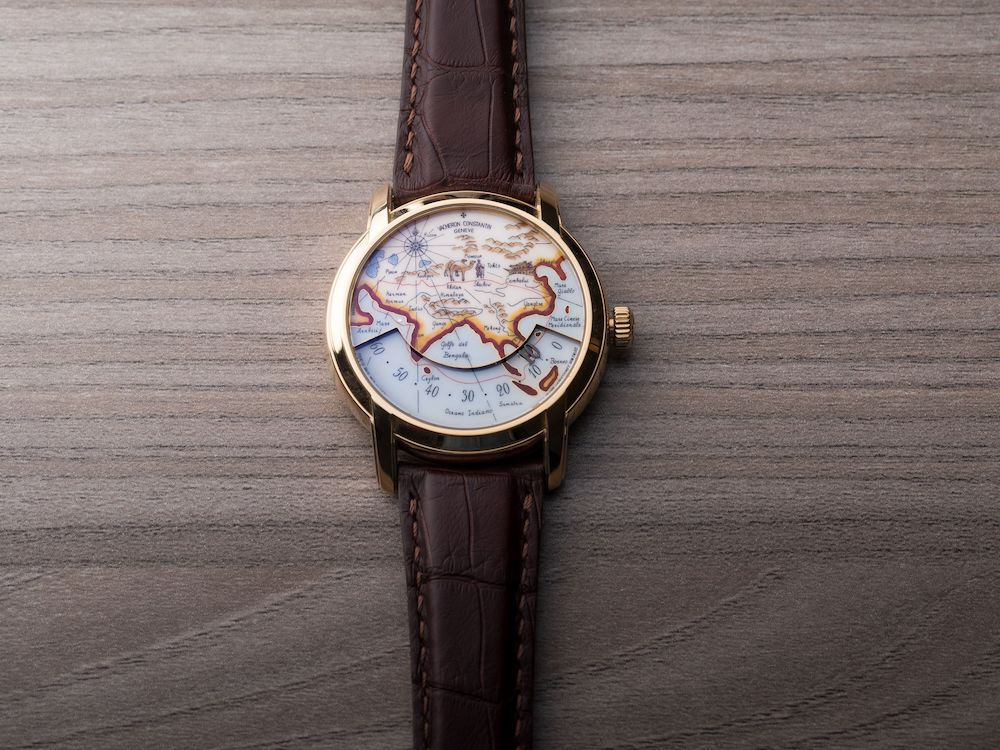 "Vacheron Constantin Hommage Aux Grands Explorateurs ""Marco Polo"""
