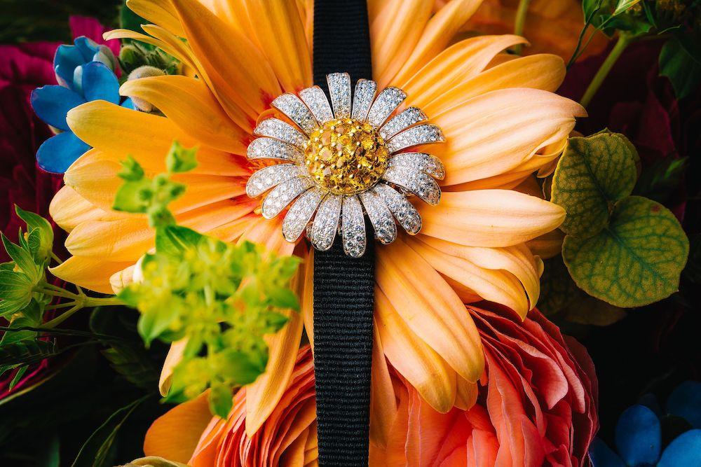 Van Cleef & Arpels flower watch