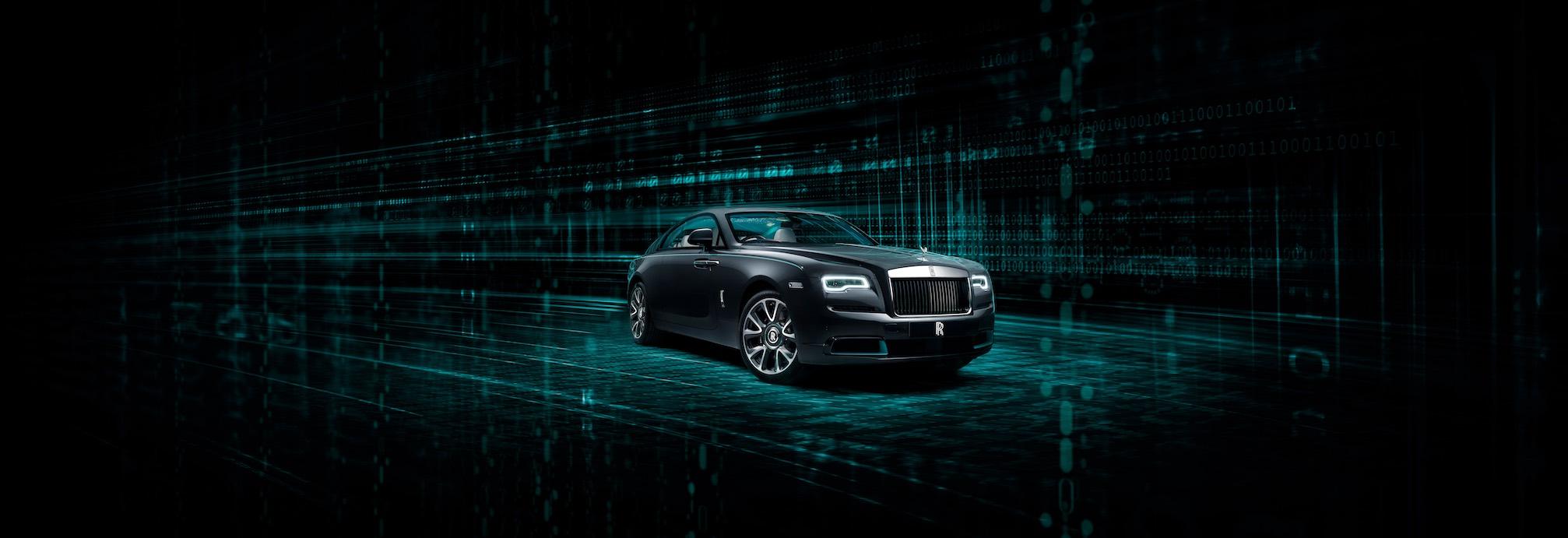 Introducing The New Rolls Royce Wraith Kryptos Collection