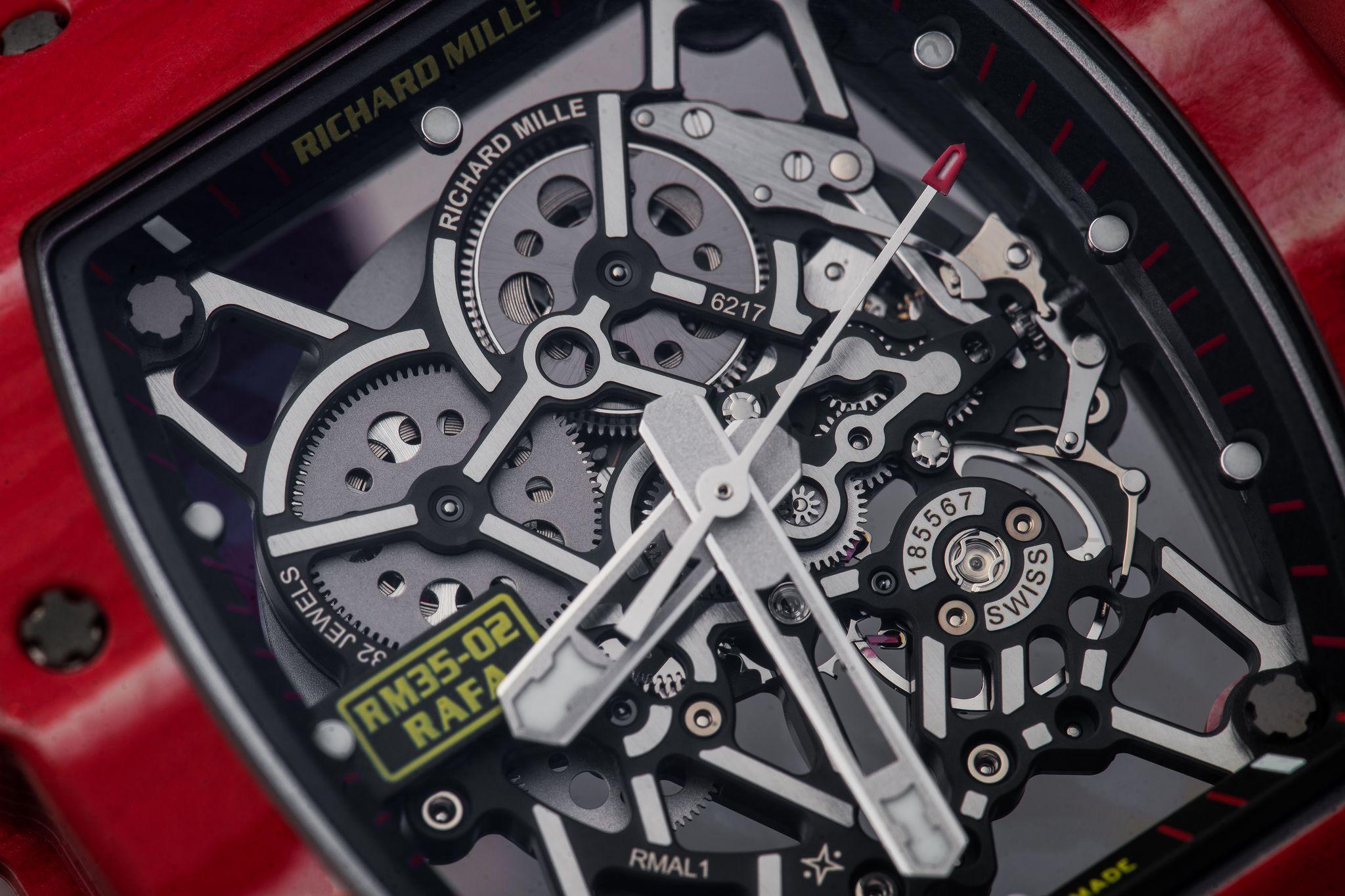 Watch Of The Week Richard Mille Rm 35 02 Rafael Nadal