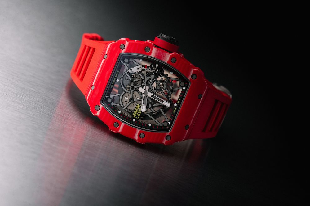Watch Of The Week Richard Mille Rm 35 02 Rafael Nadal