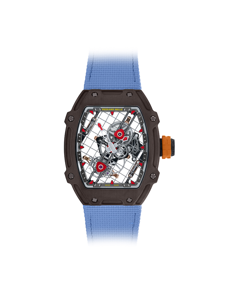 Richard Mille Celebrates Ten Year Partnership With Rafael Nadal With Million Dollar Tourbillon
